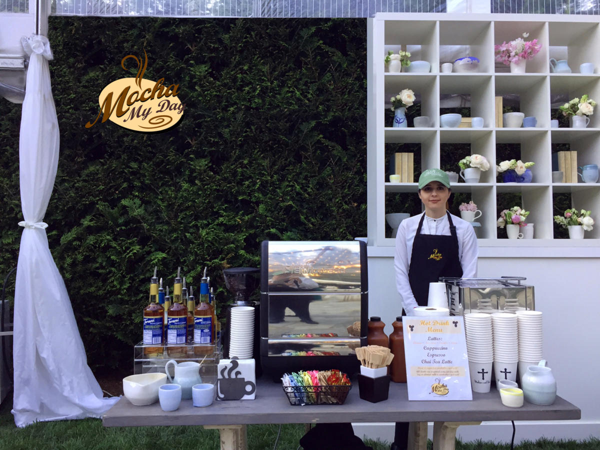 Mobile Coffee Bar Wedding